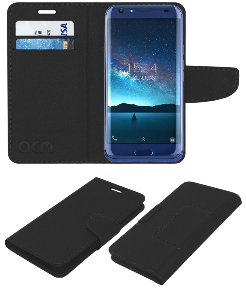 DOOGEE BL5000 Flip Cover by ACM - Black NA