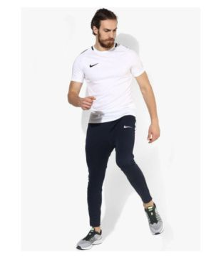 6c48cce49e70a Nike Side Stripe Dry Fit Navy Track Pants - Buy Nike Side Stripe Dry Fit Navy  Track Pants Online at Low Price in India - Snapdeal