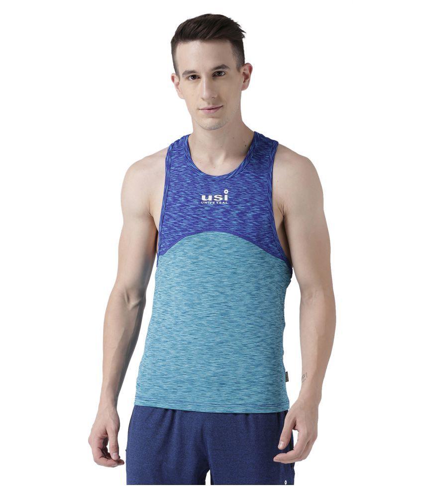 USI Universal Blue And Aqua Training T-Shirt