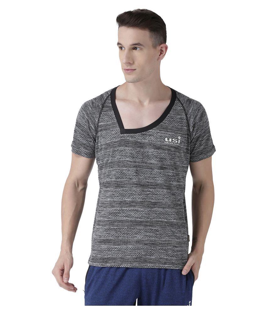 USI Universal Grey Training T-Shirt