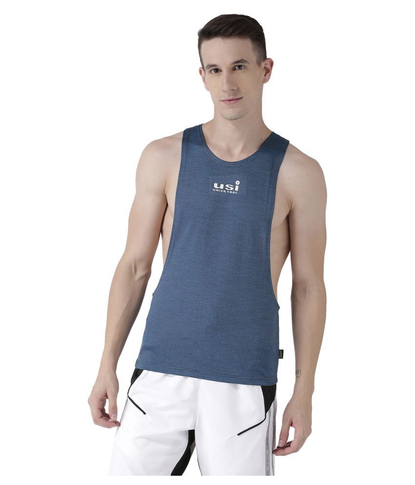 USI Universal Midnight Blue Gym Vest