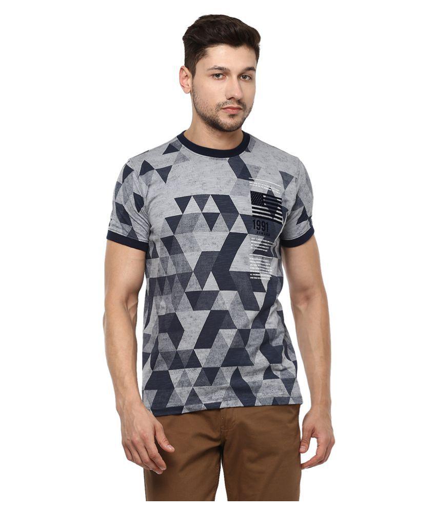 AXMANN Black Round T-Shirt