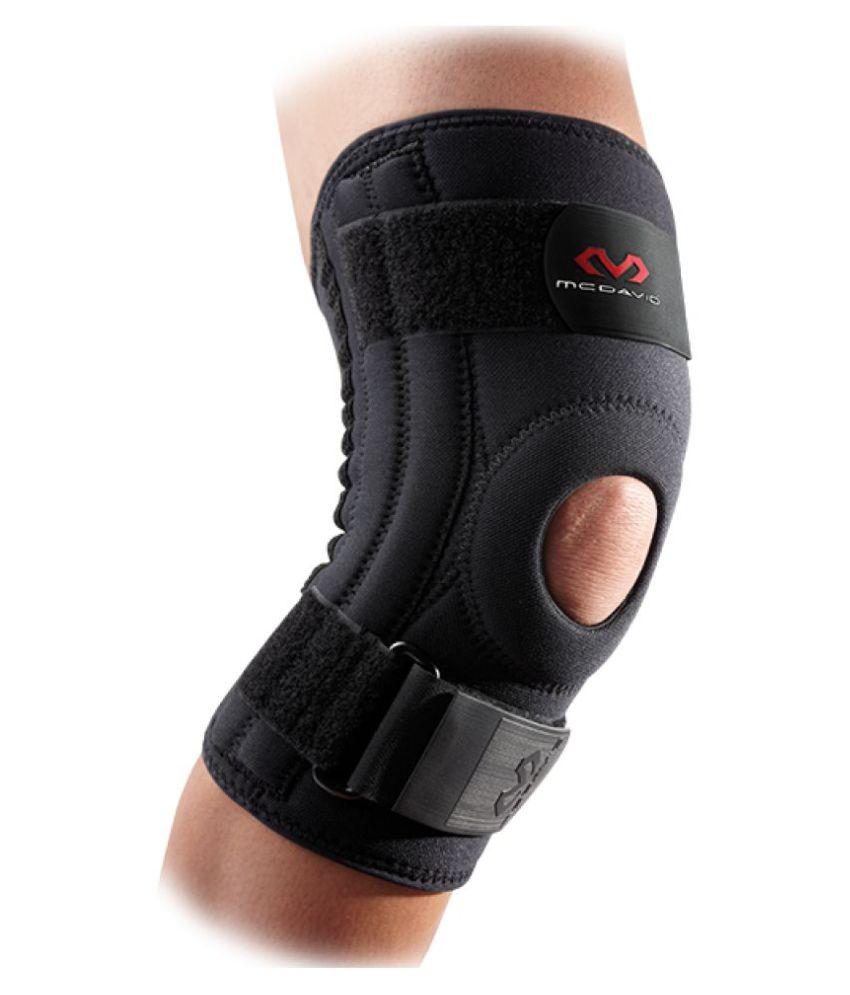 McDavid Md42101 Knee Support with Stays - Black Small