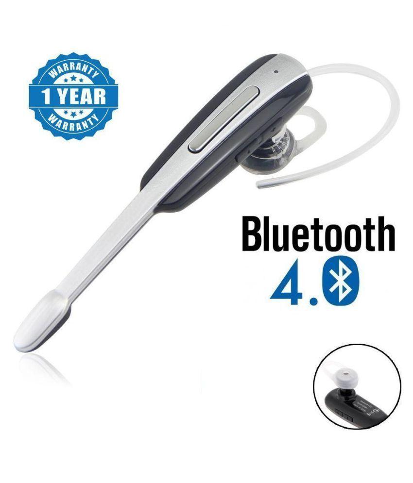 LatestTrend Sam Galaxy A7 Bluetooth Headset - Silver