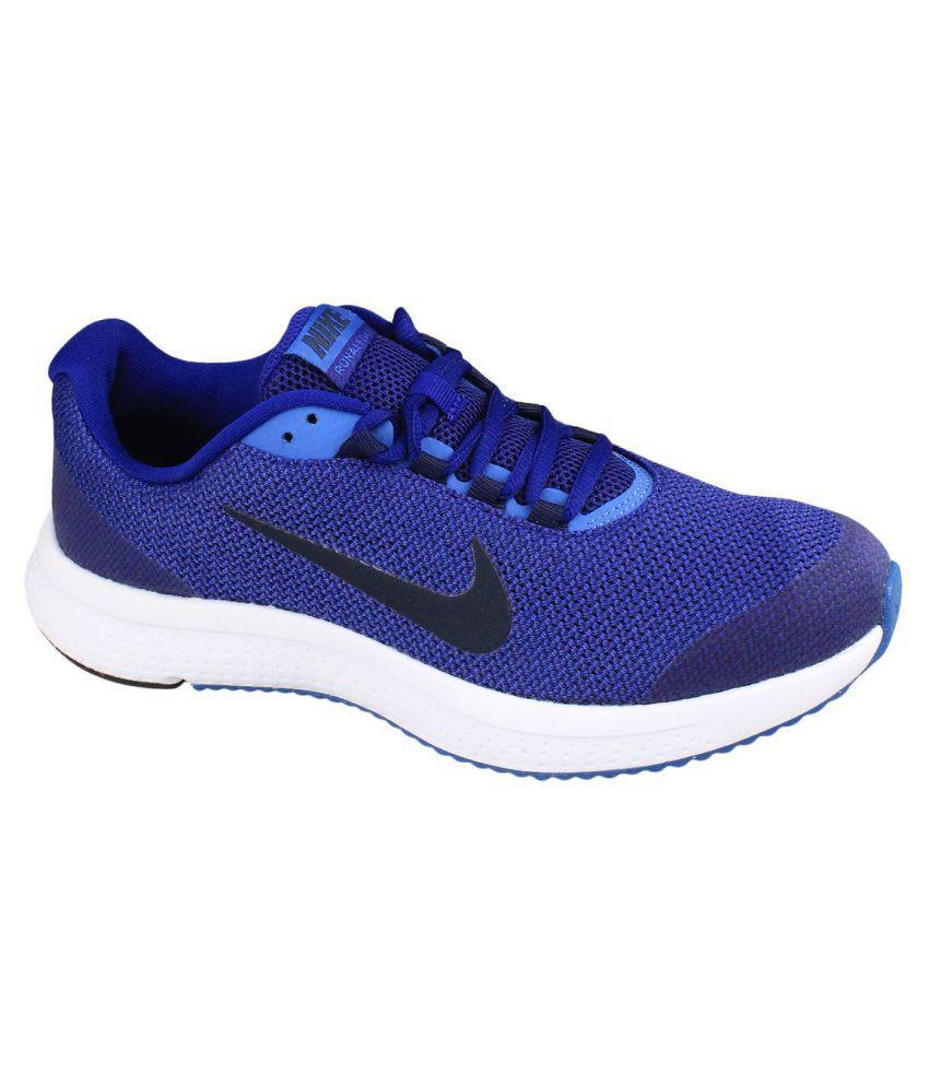a1ab91e4729 Nike 898464-402 RUN ALL DAY Blue Training Shoes - Buy Nike 898464 ...