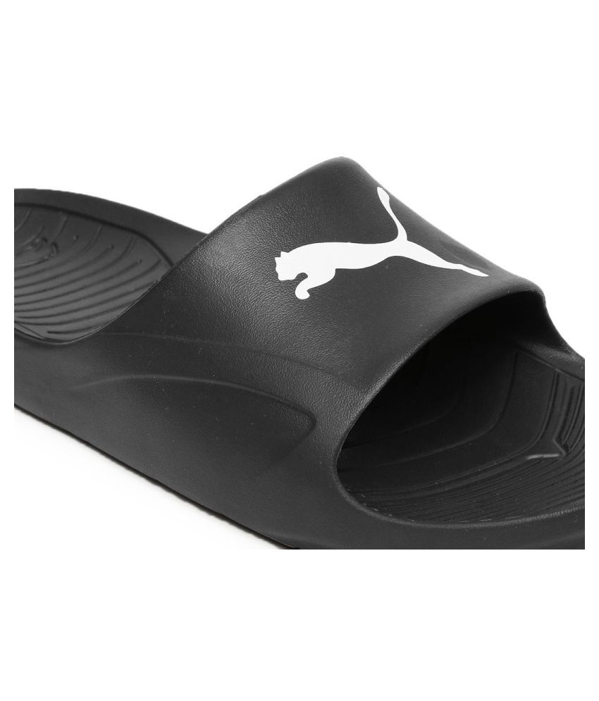 649215f74ce4a7 Puma Unisex Divecat Black Slide Flip flop Price in India- Buy Puma ...