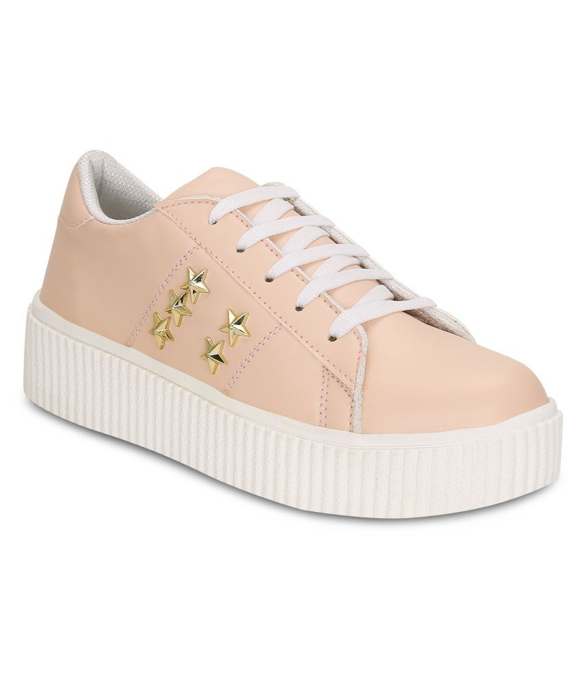 Get Glamr Pink Casual Shoes