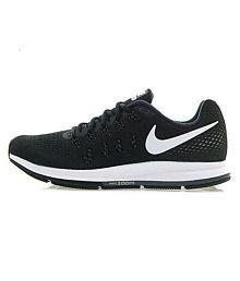 Nike zoom pegasus 33 Black Running Shoes