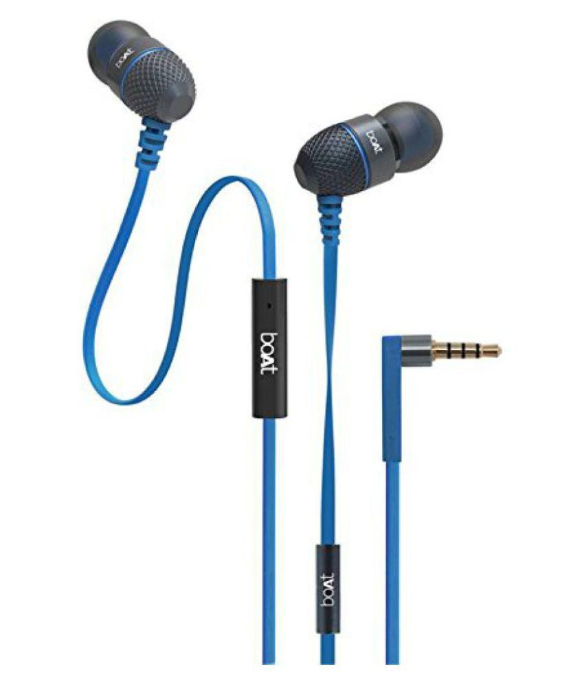 Boat Bassheads 180 In Ear Wired Earphones With Mic
