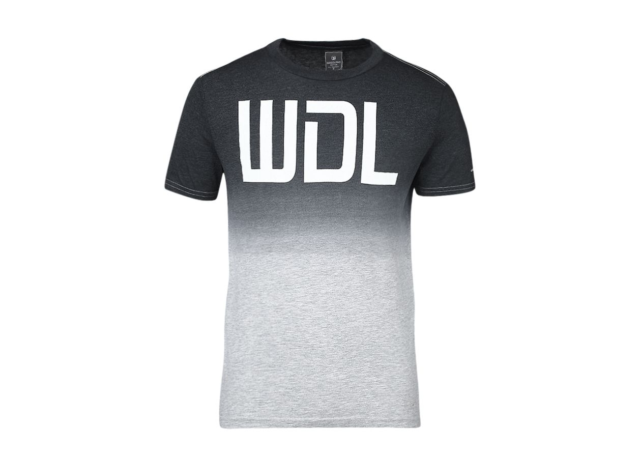 Woodland Black Round T-Shirt