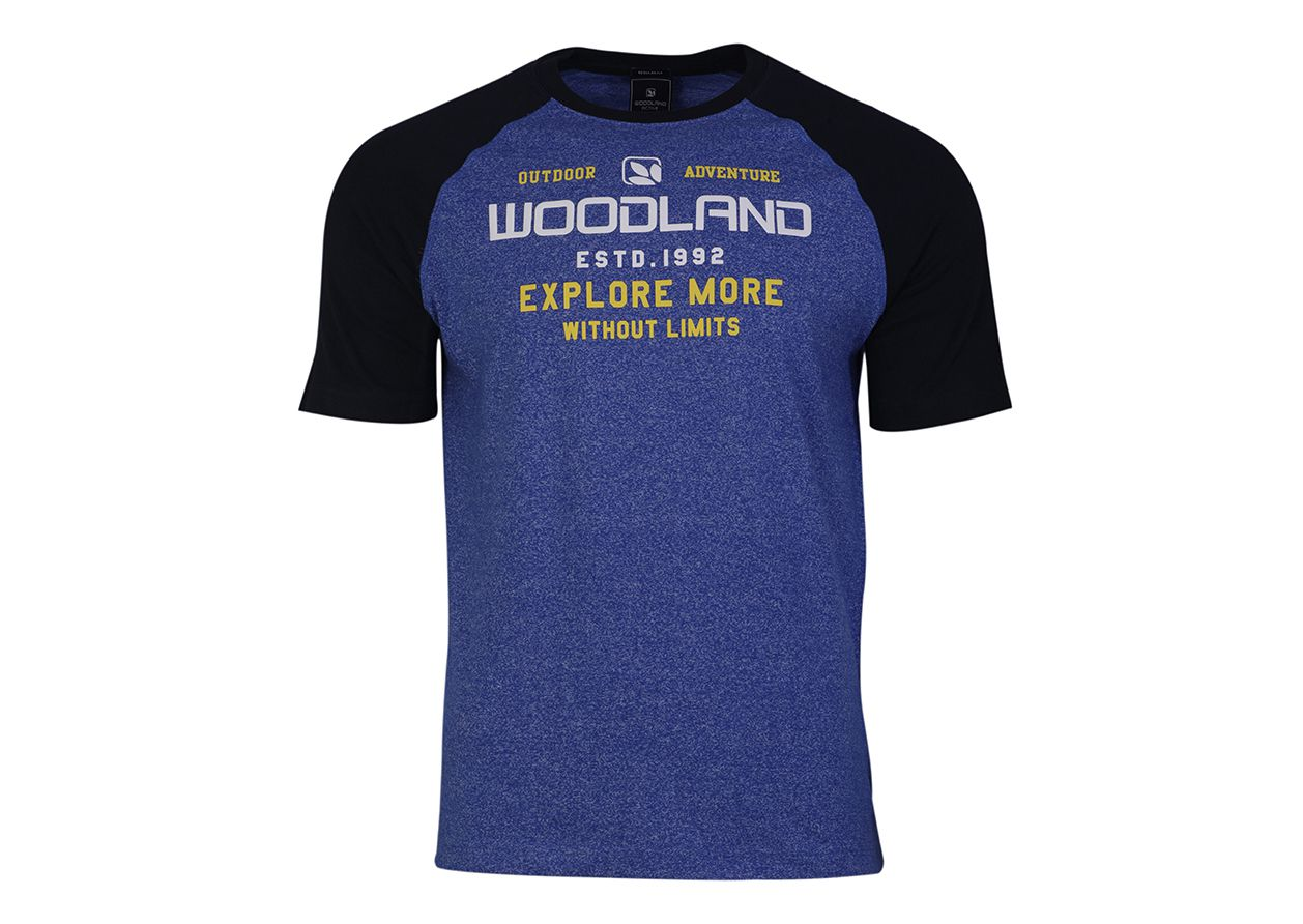 Woodland Blue Round T-Shirt