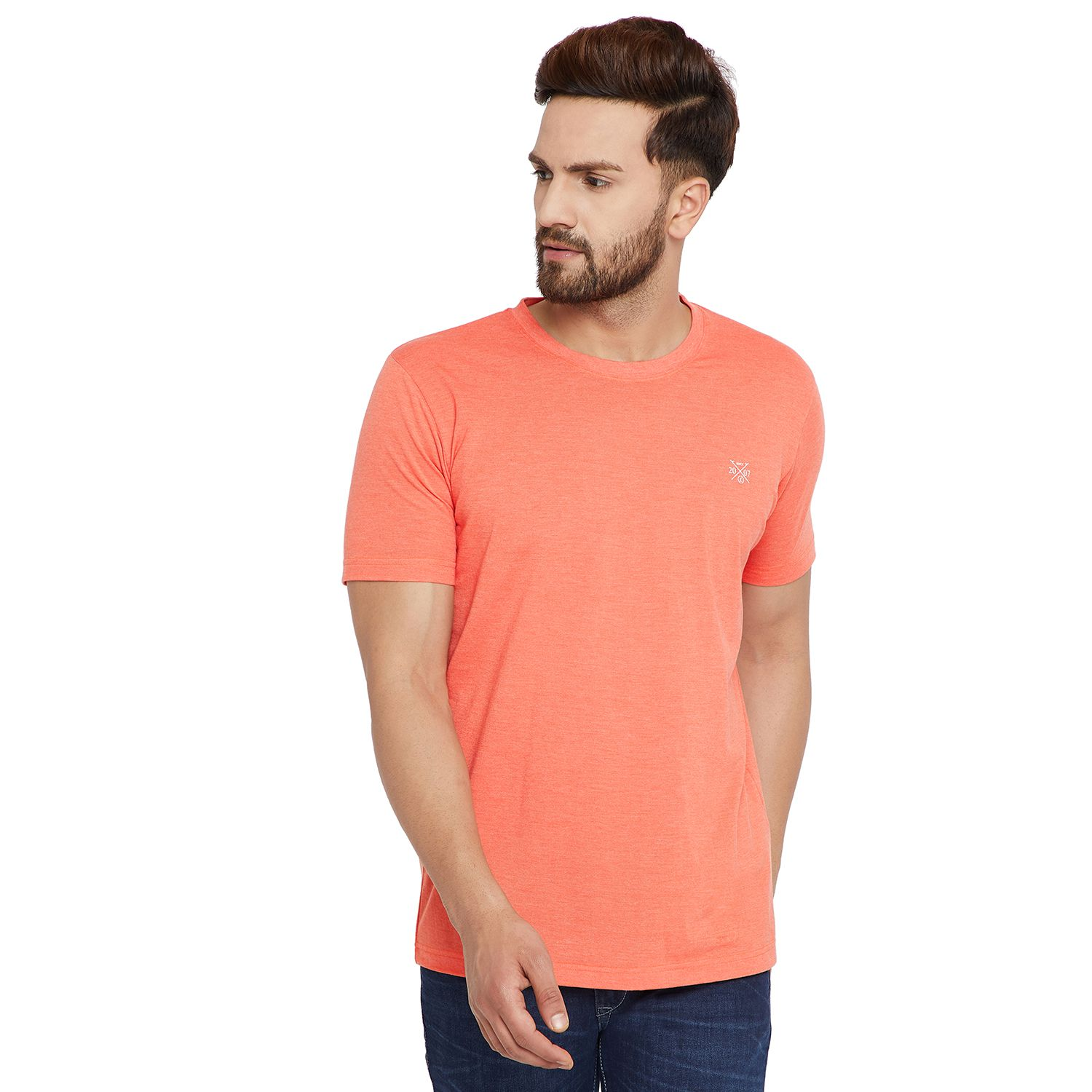 Canary London Orange Round T-Shirt