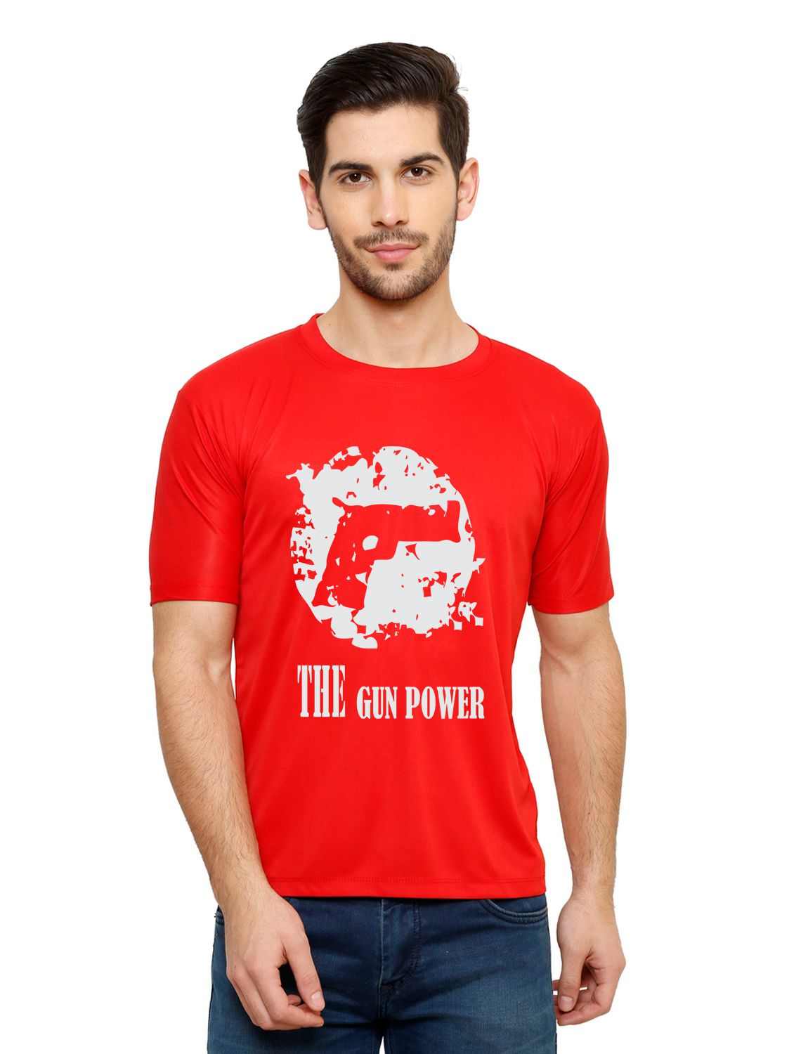 Grand Bear Red Round T-Shirt Pack of 1