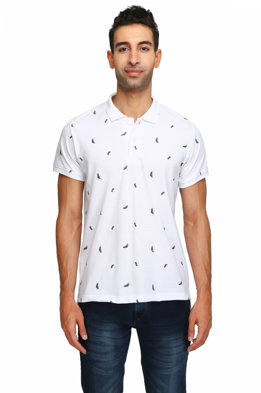 Be-Beu White V-Neck T-Shirt Pack of 1