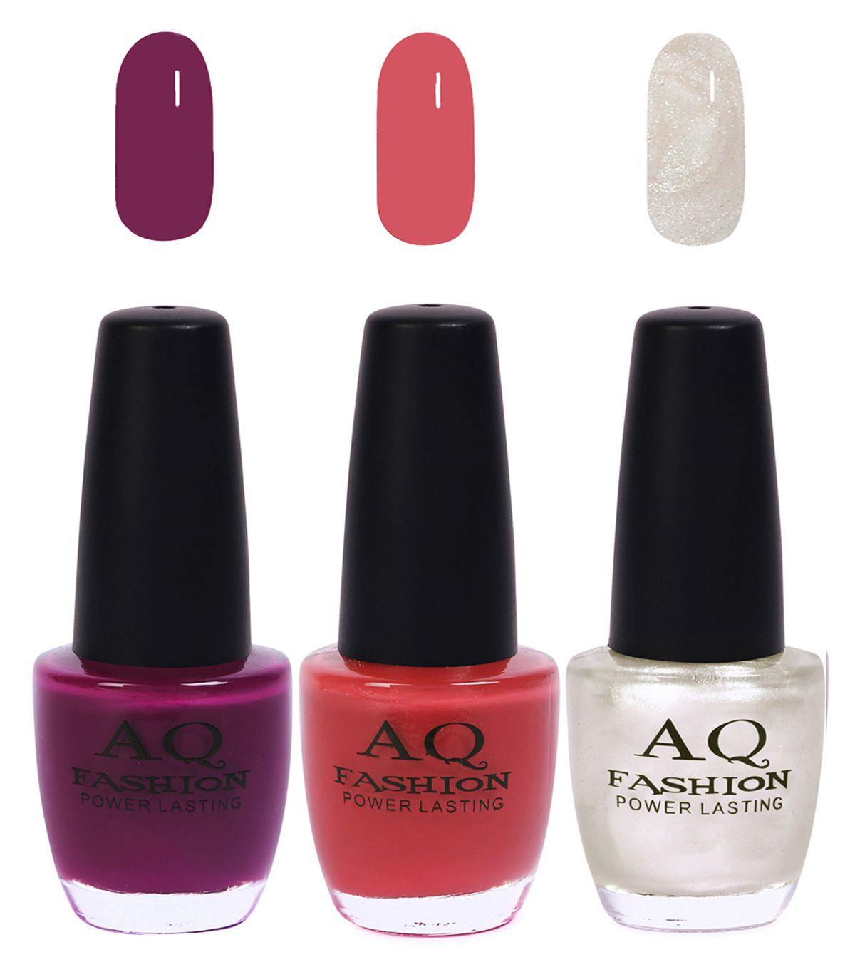 AQ Fashion Nail Polish Neon Colors Matte 36 ml