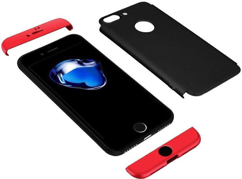 quality design 64f98 fd738 Xiaomi Redmi Note 5 Pro Plain Cases Kosher Traders - Black Gkk 360 3 in 1