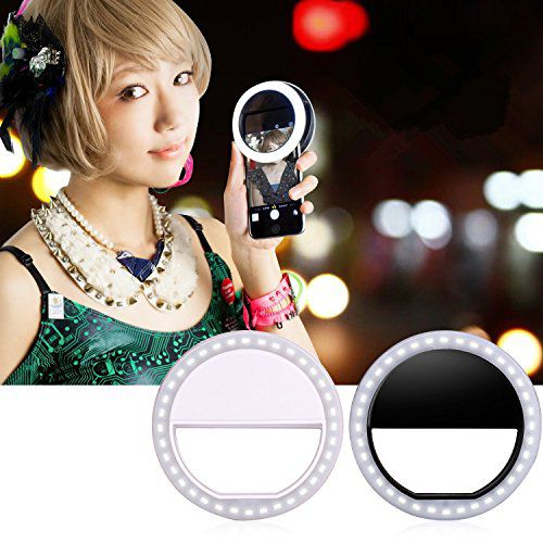 Zoostliss 3 Level Selfie Ring Light For Iphone 6 Plus 6s 6, 5s 5 4s 4 Samsung Galaxy S6 Edge/s6/s5/s4/s3, Galaxy Note Blackberry B