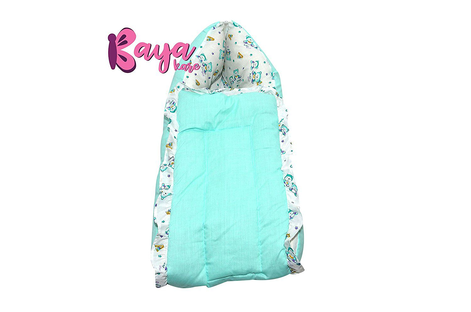 Kayakare Green Cotton Sleeping Bags ( 43 cm × 15 cm)