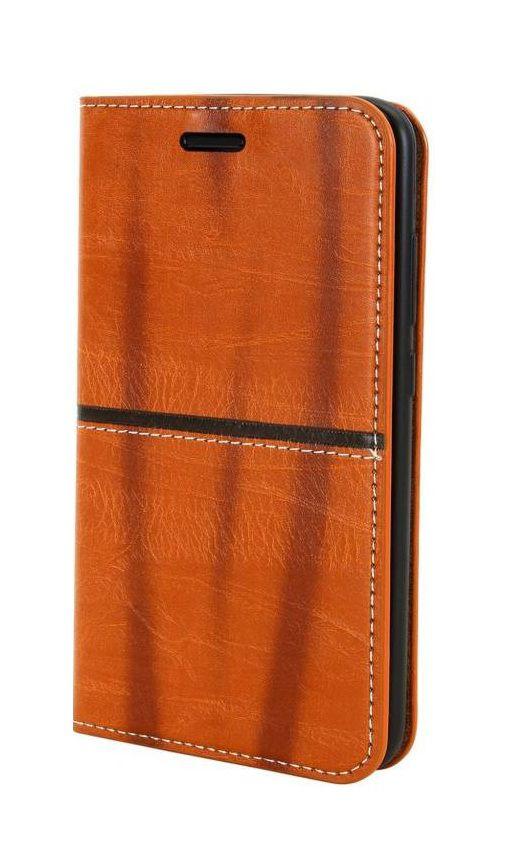 Oppo A83 Flip Cover by aldine - Brown