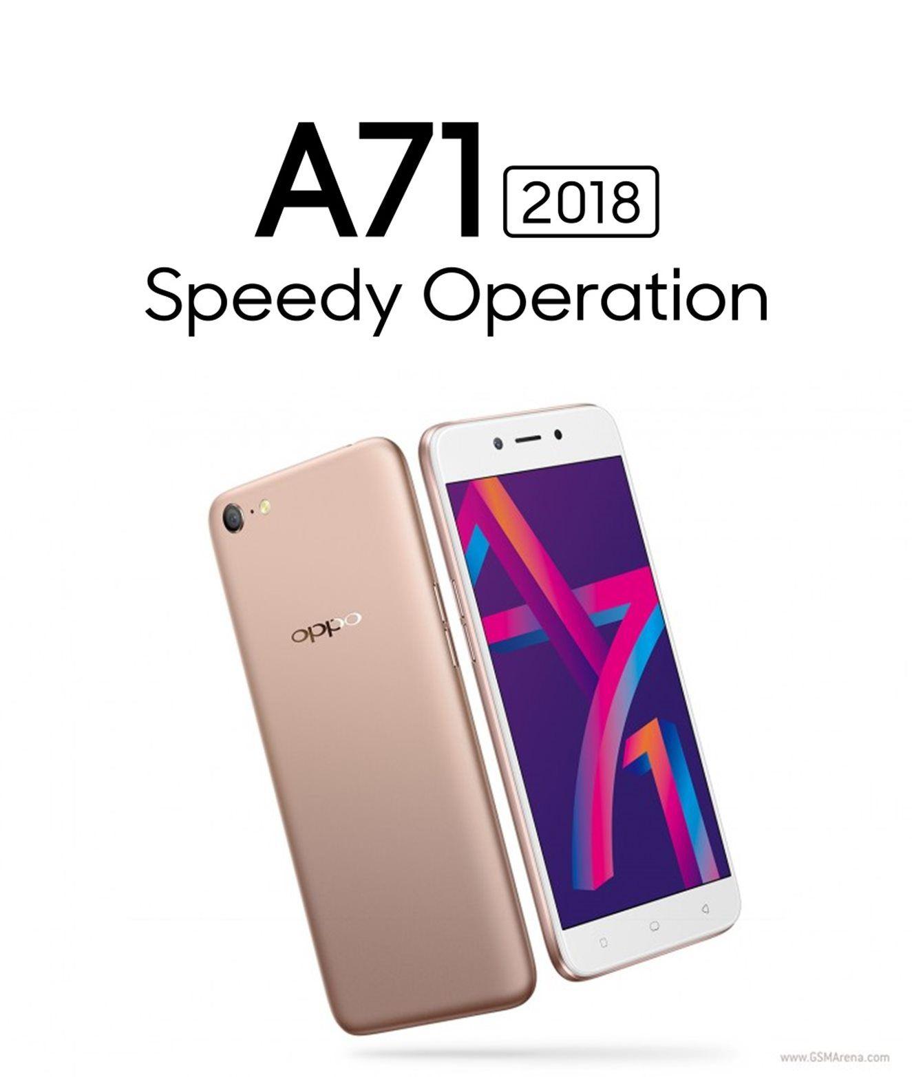Oppo Gold A71 2018 model with speedy processor 3gb 16GB