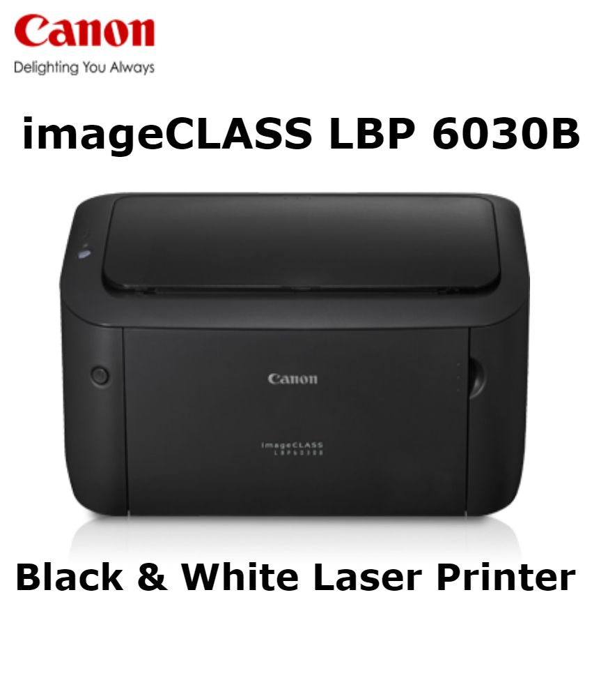 Canon - LBP6030B Single Function Laser Printer (Black)