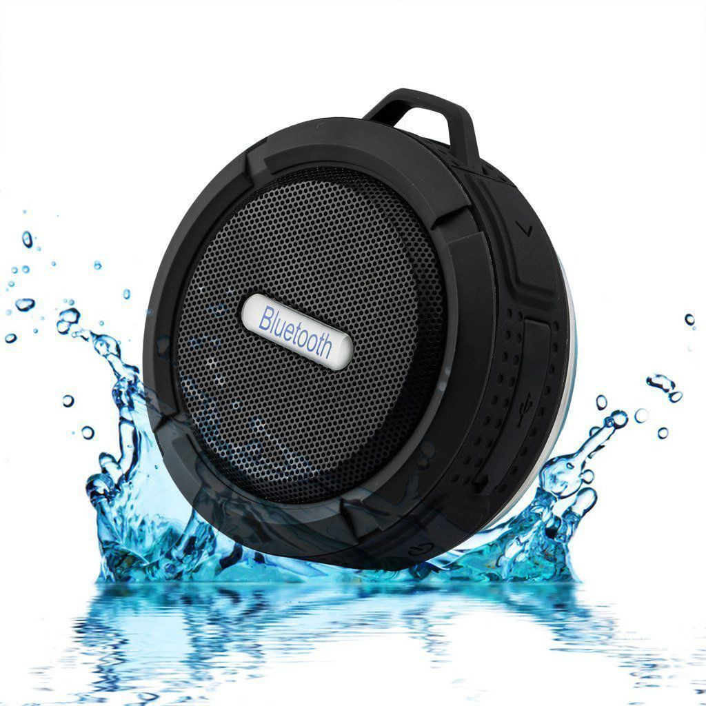 Shower Speaker Hipipooo Waterproof Wireless Portable Bluetooth