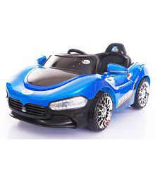 Toyhouse Sports Rechargeable Battery Painted Ride-on car, Blue