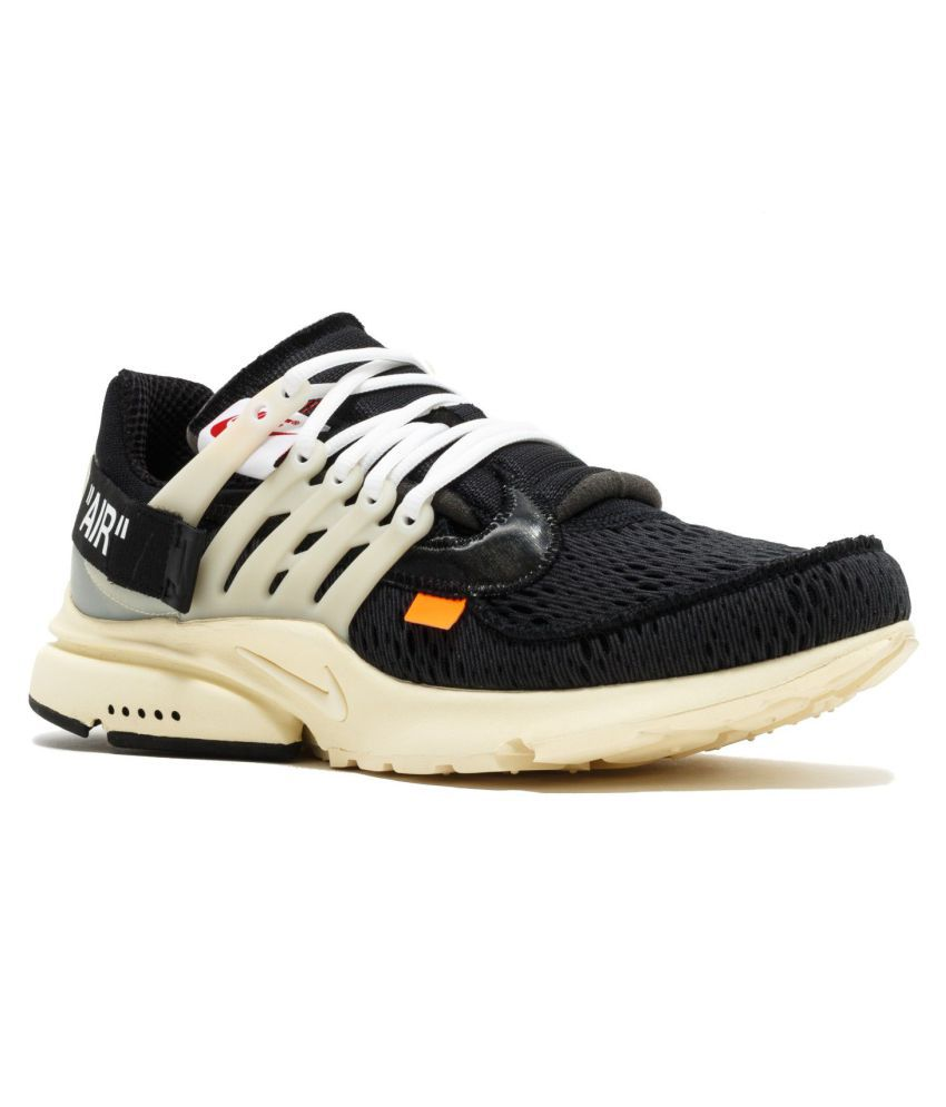 meet 6bcb9 910c9 Nike PRESTO OFF WHITE LIMITED EDITION White Running Shoes