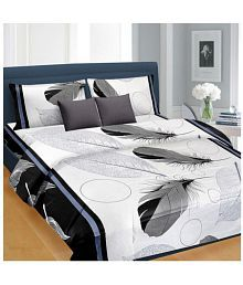 Quick View. Nice Cotton Cotton Double Bedsheet With 2 Pillow Covers