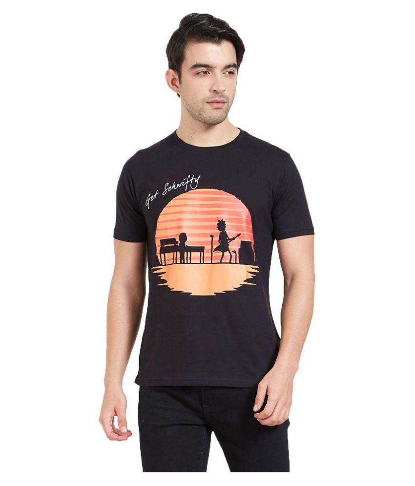 Redwolf Black Round T-Shirt Pack of 1