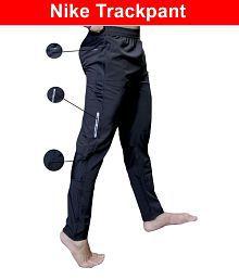 9c2c13a83 Nike Black Polyester Lycra Gymwear Trackpants