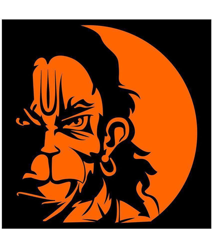 stickeryard vayuputhra hanuman car decal religious inspirational