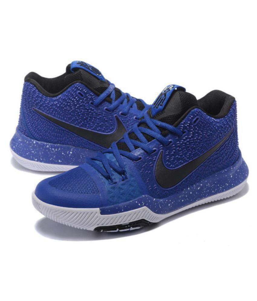 new product 14169 558cc Nike kyrie 3 cavs Blue Basketball Shoes - Buy Nike kyrie 3 cavs Blue  Basketball Shoes Online at Best Prices in India on Snapdeal