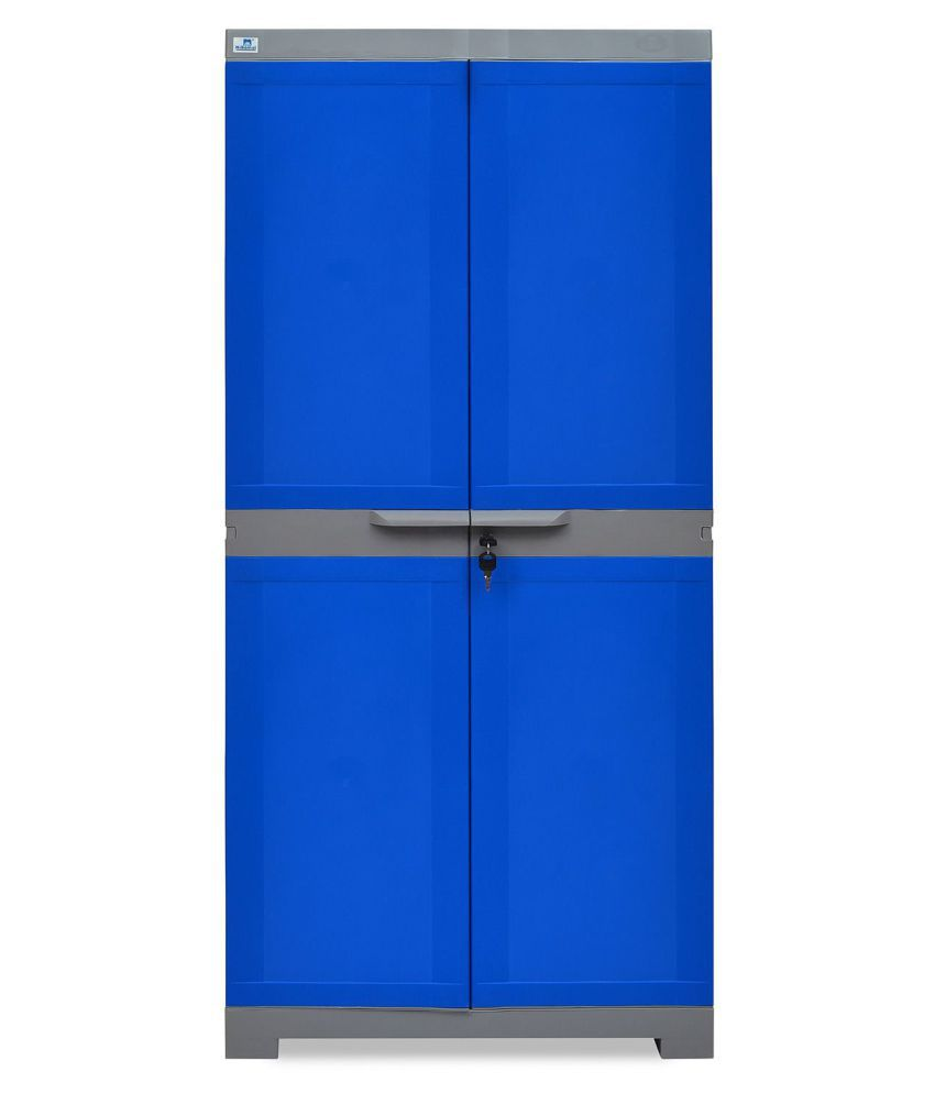 8438a567add NILKAMAL FREEDOM MINI MEDIUM CABINET ALMIRAH WARDROBE BLUE  Buy Online at  Best Price in India on Snapdeal