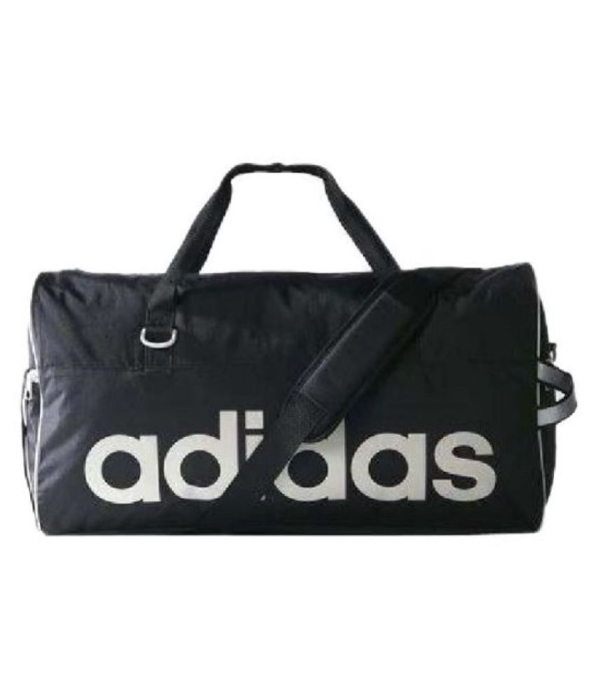 7277c9320d ... adidas AD180BLAC 2015 Duffel Gym Bag Travel Holdall