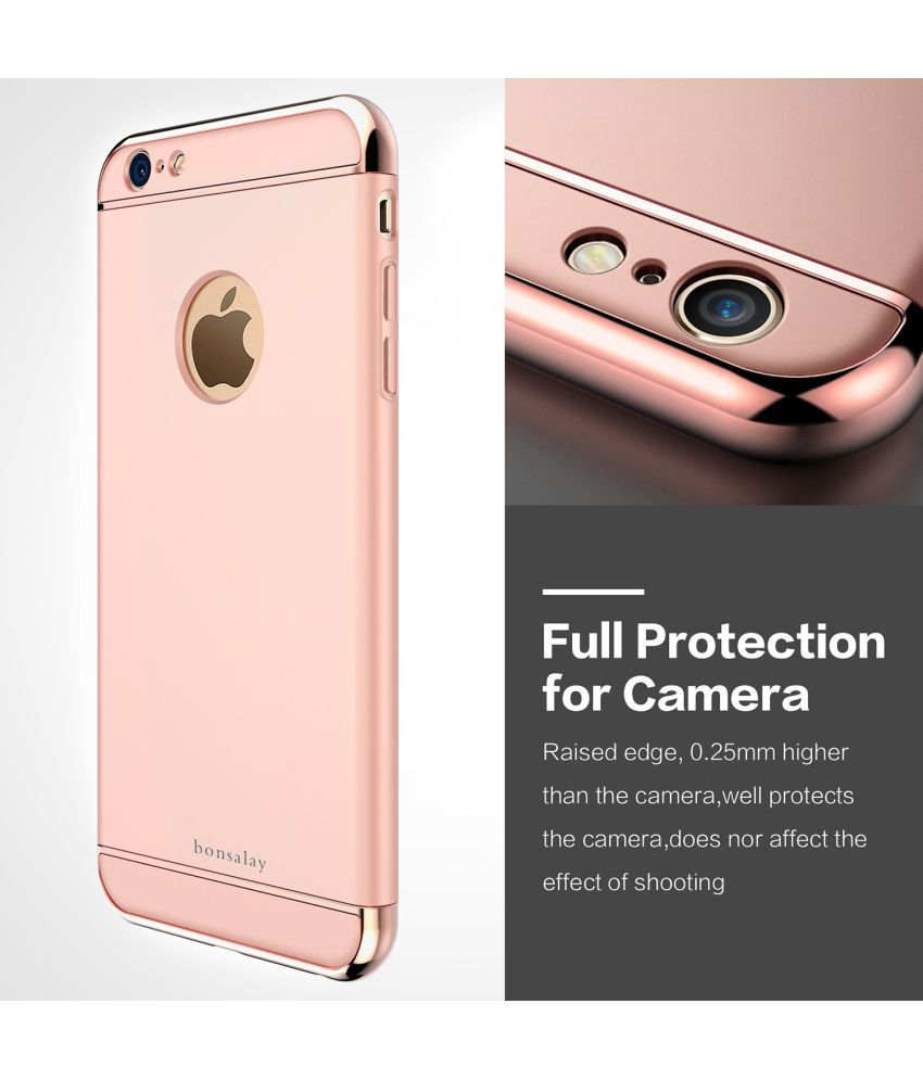 Apple iPhone 7 Plus   3 in 1 Protective Cover by ClickAway   Golden