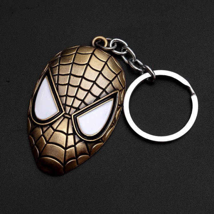 Marvel DCAvengersMovie Jewelry Keychain Super Hero Model Key Ring Hoder