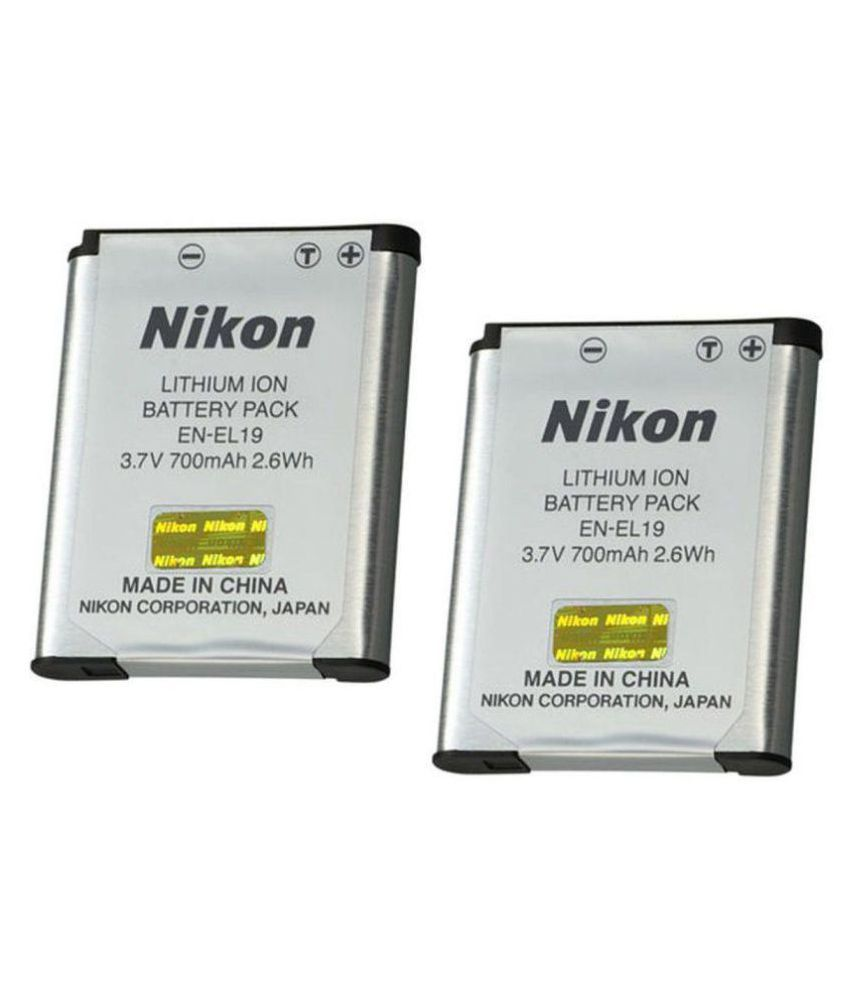 Nikon EN EL19 700mAh Rechargeable Battery 2