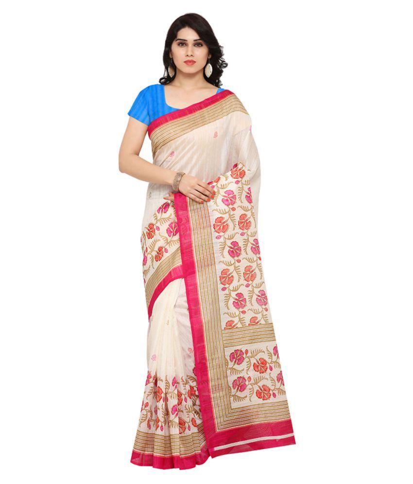 Sunaina Multicoloured Bhagalpuri Silk Saree
