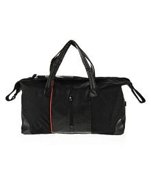 Adidas Black Solid Duffle Bag