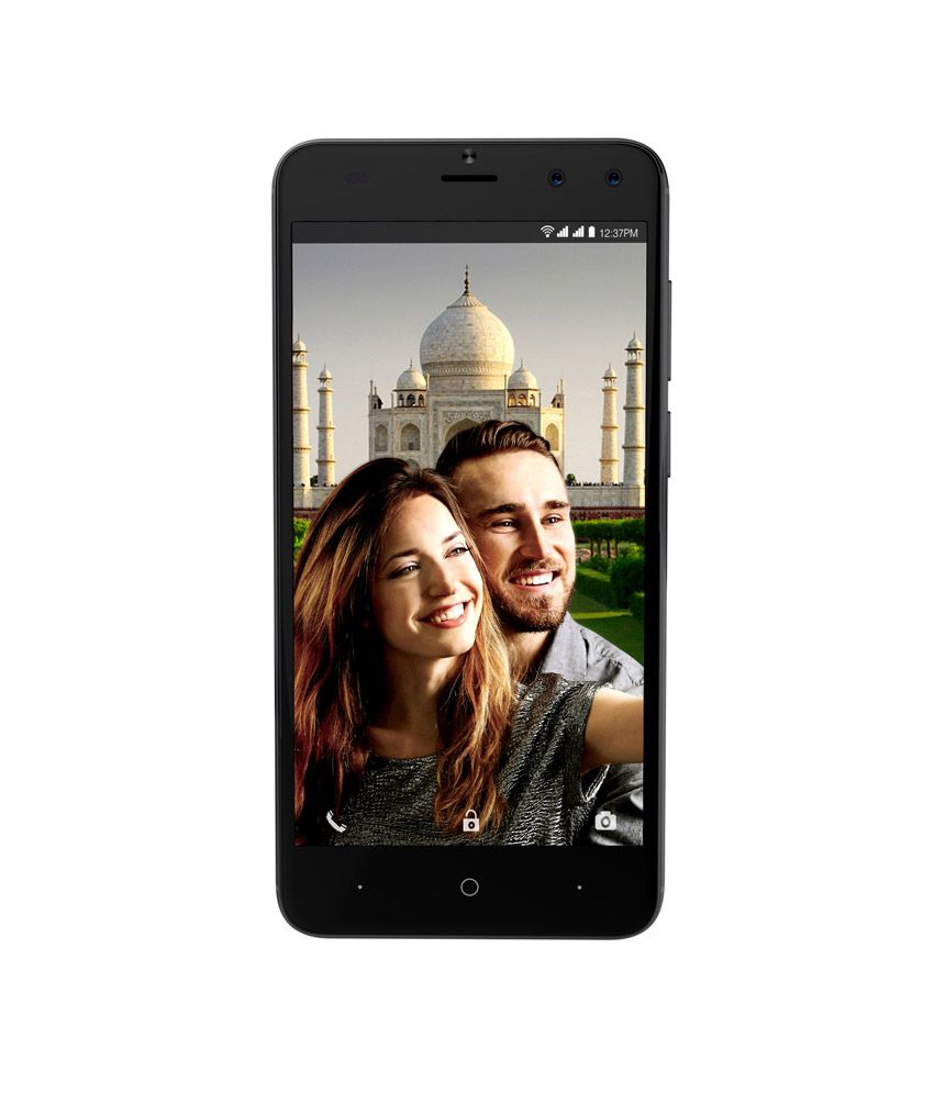 Intex Aqua Lions T1 Plus (16GB, 2GB RAM) - Dual Front Camera