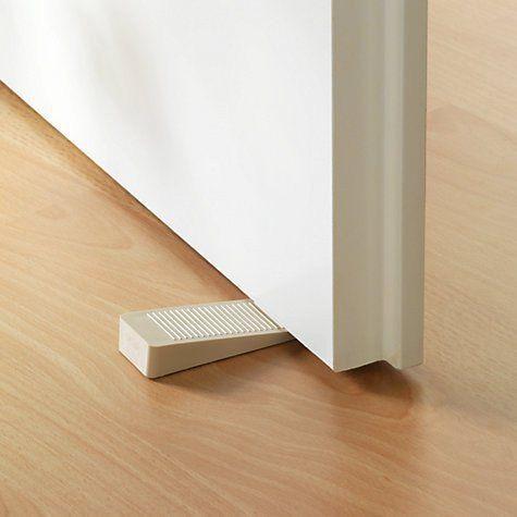 YUTIRITI Set Of 2Pc Non-Slip Rubber Stackable Door Stopper Door Block Wedge / Door Jammer Guard