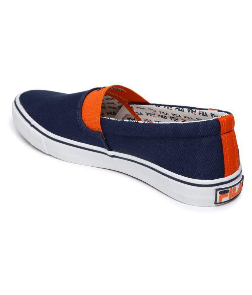 1c56ec99f415 Fila Men Carlin Sneakers Navy Casual Shoes - Buy Fila Men Carlin ...