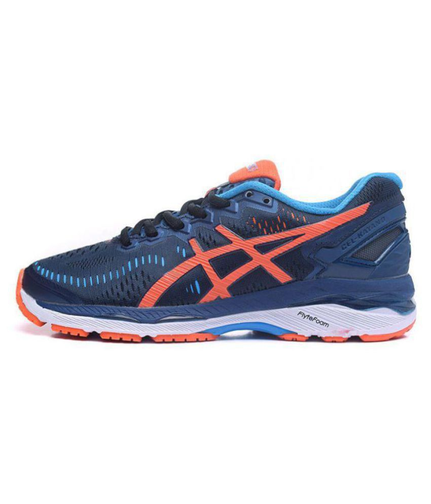 Asics GEL KAYANO 23 Blue Running Shoes ...