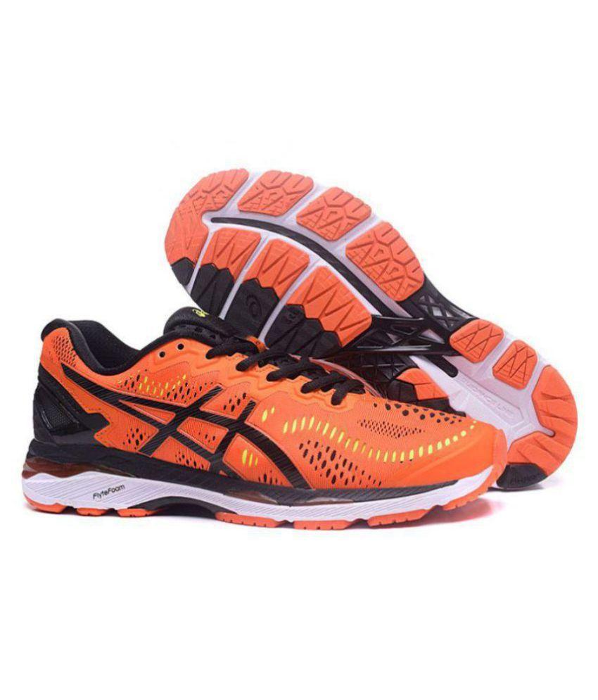 a551855ab5a5 Asics GEL-KAYANO 23 Orange Running Shoes - Buy Asics GEL-KAYANO 23 ...