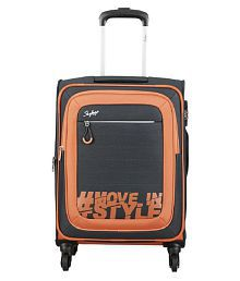 Skybags Grey L(Above 70cm) Check-in Soft Hashtag Luggage