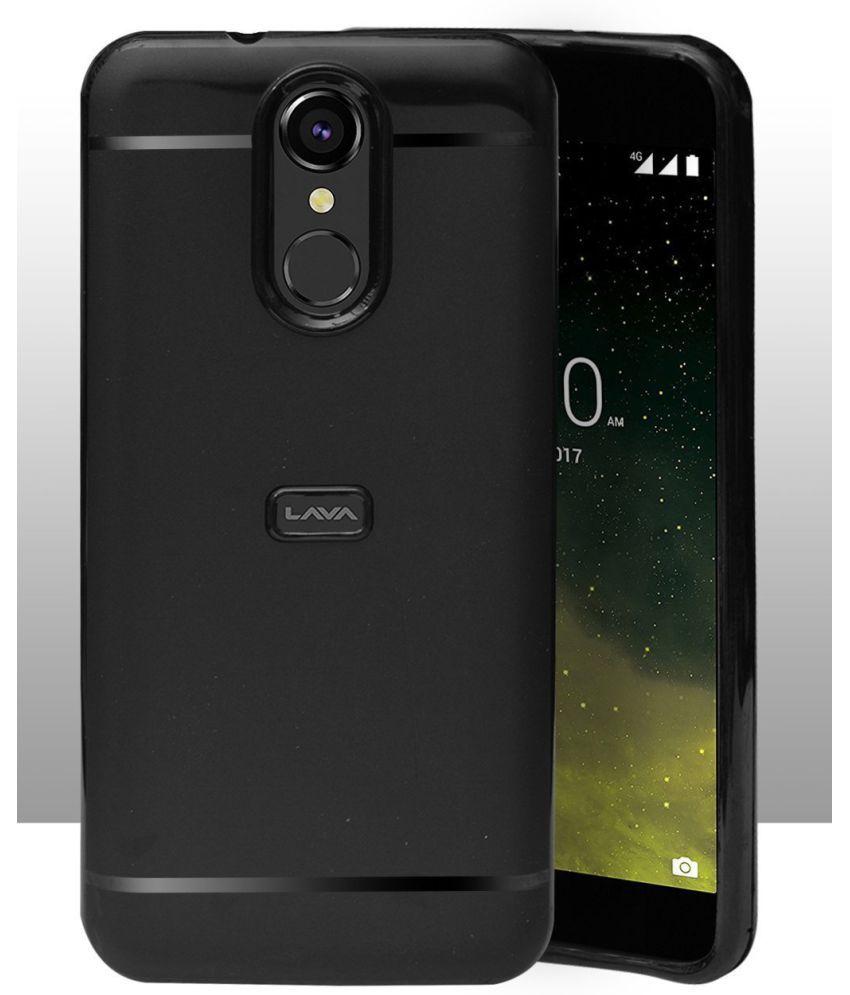 best website dc9eb d4b0a LAVA Z70 4G Soft Silicon Cases Hopsack - Black
