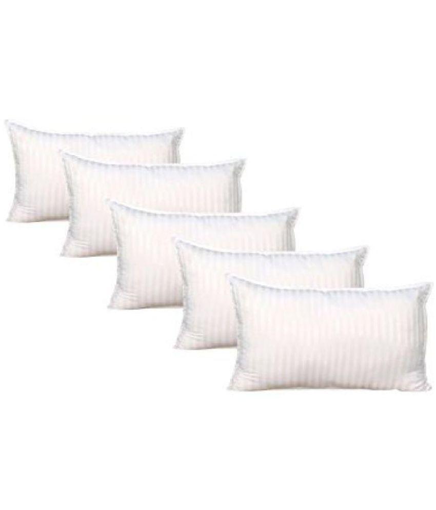 Panipat Textile Hub Set of 5 Fibre Pillow
