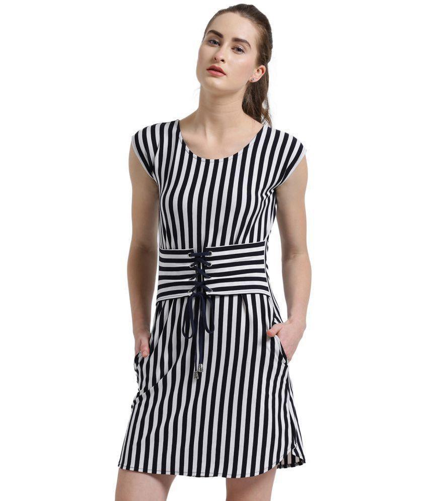 Texco Viscose Navy Dresses