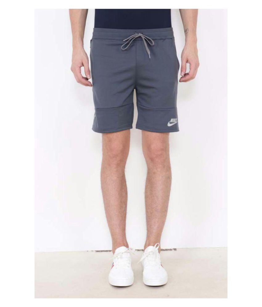 nike long zip short